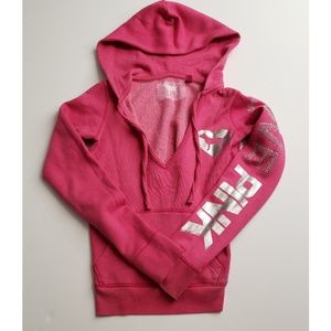 GUC RARE Victoria's Secret PINK pullover hoodie XS